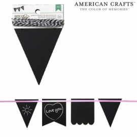 Banners pennant chalkboard x24