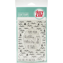 "Clear Stamp Set Swell 4""X6"""