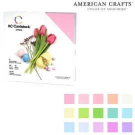 "Textured Cardstock Pack Spring Seasonal​ 12""X12"""