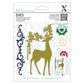 Dies Ornate Reindeer