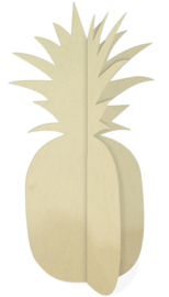 Deco Wood XL Pineapple