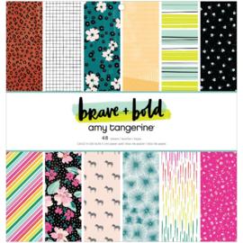 "Brave & Bold Paper Pad 12""X12"""