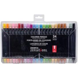 Zensations Colored Pencils 24 Assorted