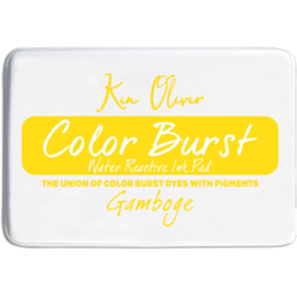 Color Burst Ink Pad Gamboge