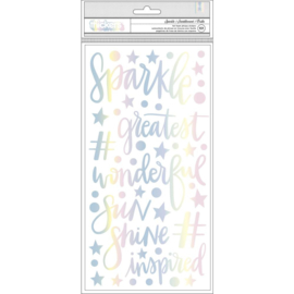 Sparkle City Thickers Stickers