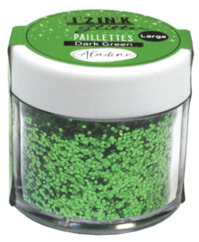 Izink Glitter Pot Green 15gr.