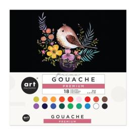 Gouache Set 12ml Assorted Colors