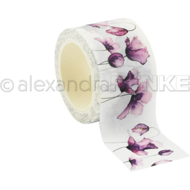 Flowers Washi Tape Tulips Violet