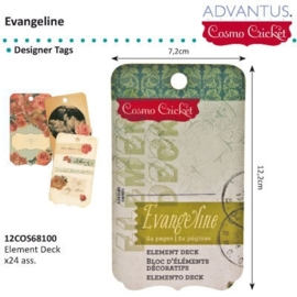 Evangeline element deck x24 tags