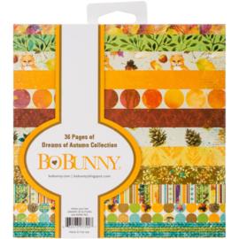 Dreams of Autumn paper pad 6x6 Inch