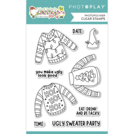 Ugly Sweater Photopolymer Clear Stamps