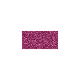 Glitter Cardstock Raspberry