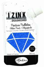 Izink Diamond Glitter Paint Marine Blue