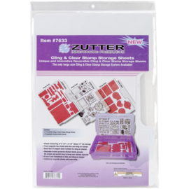 "Cling & Clear Stamp Storage System Refills 12.25""X8.5"""