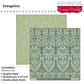 Evangeline paper tapestry