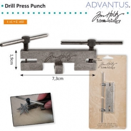 Drill press punch