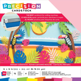 Precision Cardstock Pack Primary/Textured