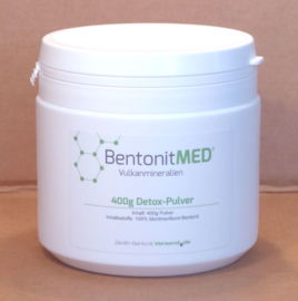 BentoniteMED 400 gr cleansing, finely ground powder