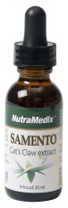 TOA-free Samento (Cat's claw) tincture Nutramedix 30ml