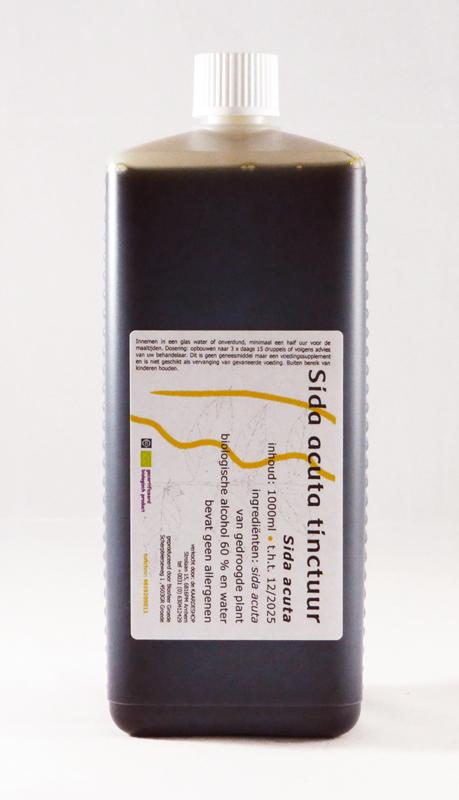 Sida acuta tinctuur 1000 ml