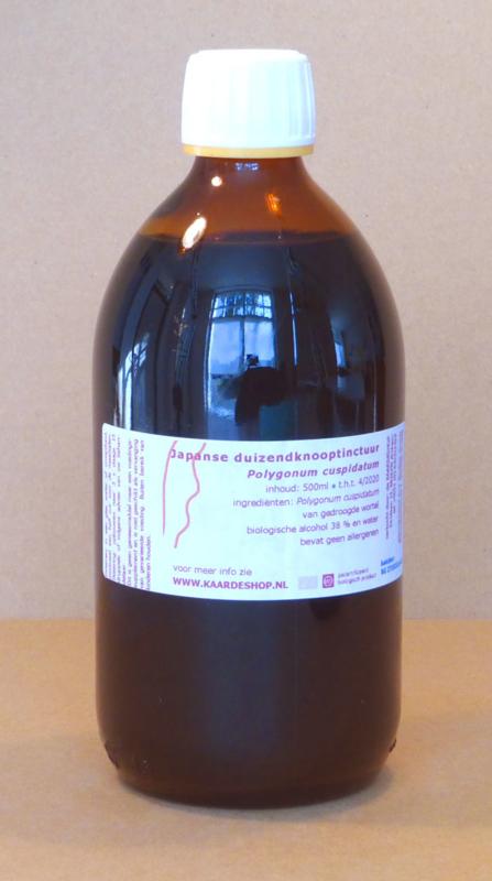 Japanse Duizendknoop tinctuur 500 ml