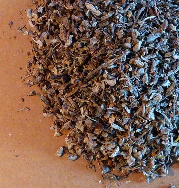 Kaardebolwortel thee biologisch 100 gr