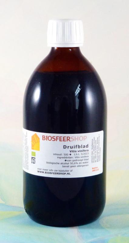 Druifblad tinctuur 500 ml