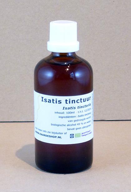 Isatis tinctoria tinctuur 100 ml