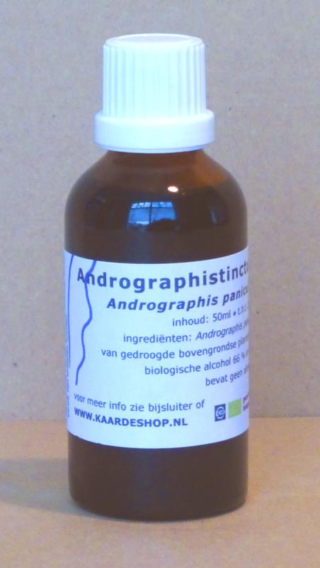 Andrographis-tinctuur 50 ml
