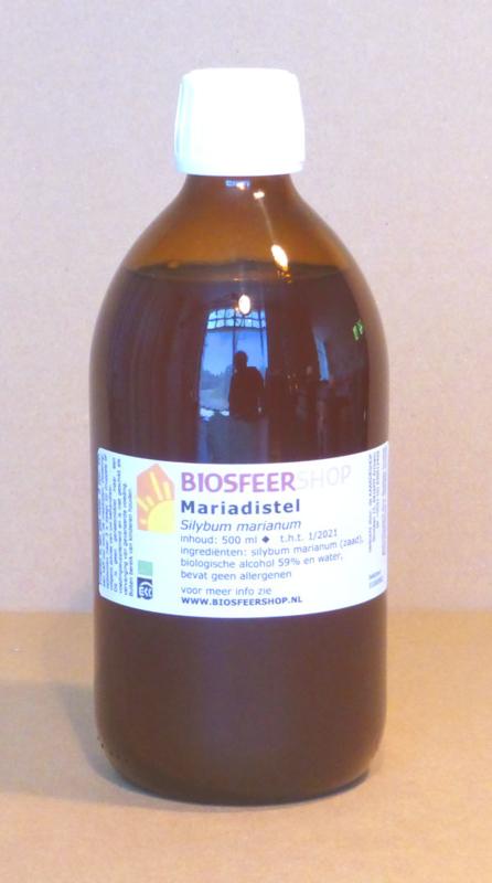 Mariendistel Urtinktur 500 ml