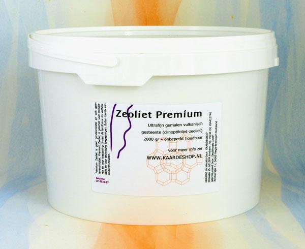 Zeoliet Premium 2000 gram