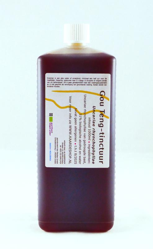 Uncaria rhynchophylla Urtinktur 1000 ml