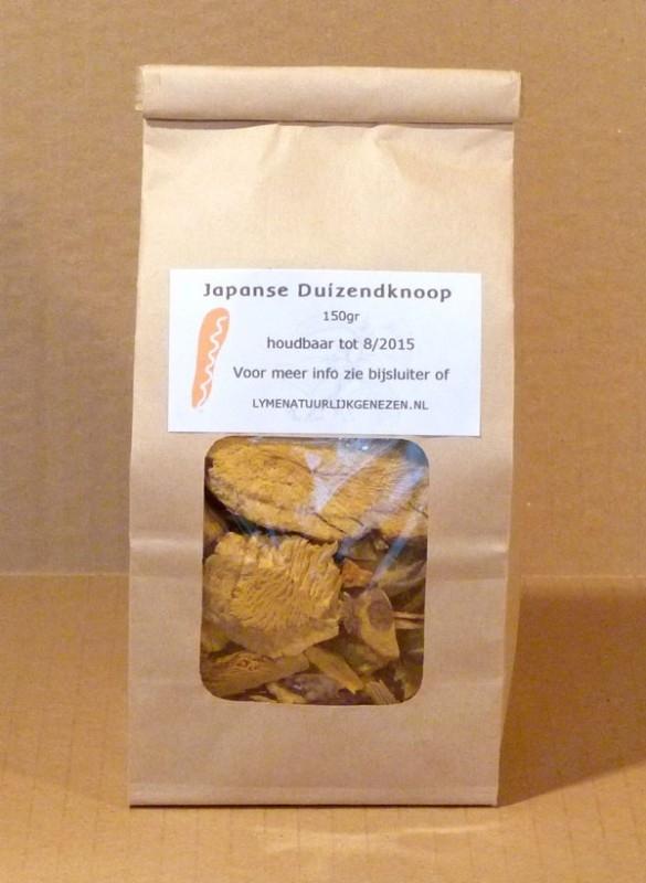 Japanse Duizendknoop stukjes 150 gr (thee)
