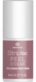 Striplac Peel or Soak 113 Classic Rosy wind  8ml