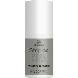 Striplac Peel or Soak 153 Grey Elegance 8 ml.