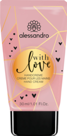With Love handcrème 30 ml.