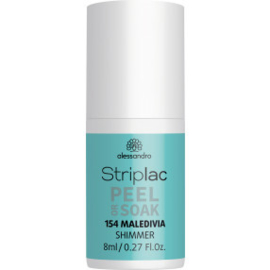 Striplac Peel or Soak 154 Maledivia Shimmer 8 ml.