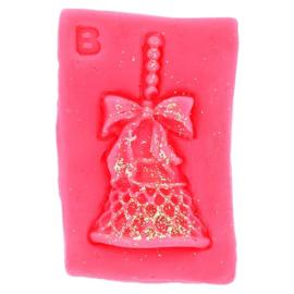 Christmas Bell Wax Melt Art