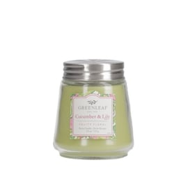 Cucumber & Lily Petite Candle