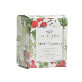 Merry Memories Candle Cube