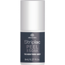 Striplac Peel or Soak 118 New York Grey 8ml