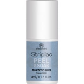Striplac Peel or Soak 120 Poetic blues 8ml