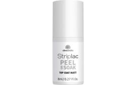 Striplac Peel or Soak Matte Top Coat 8 ml.