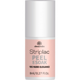 Striplac Peel or Soak 105 Nude Elegance 8 ml.
