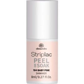 Striplac Peel or Soak 104 Baby Pink 8 ml.