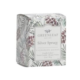 Silver Spruce Candle Cube