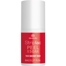 Striplac Peel or Soak 144 Secret Red 8 ml.