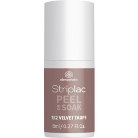 Striplac Peel or Soak 152  Velvet Taupe 8 ml.