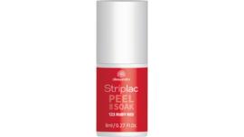 Striplac Peel or Soak 123 Ruby red 8ml