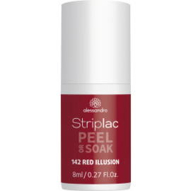 Striplac Peel or Soak 142 Red Illusion 8 ml.